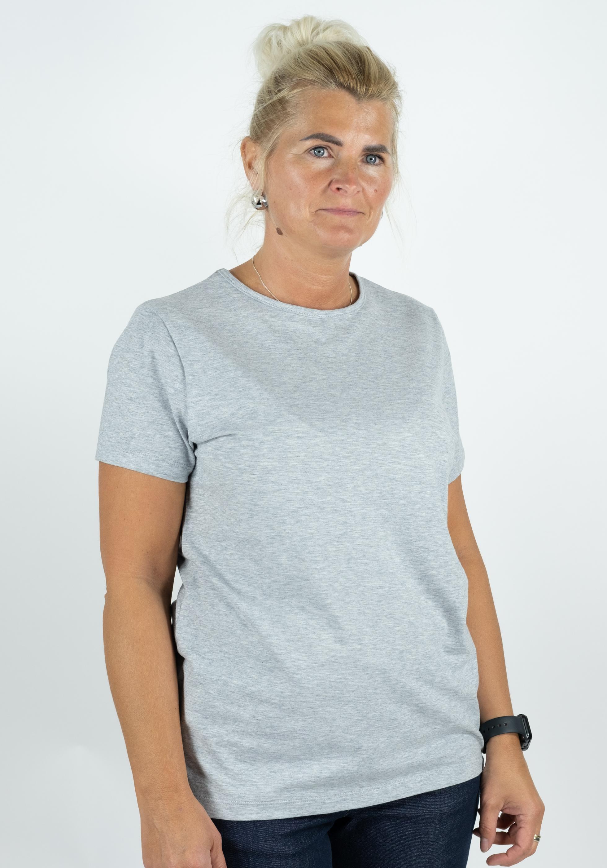 Kurzarm-Shirt Contoured fit Katharina